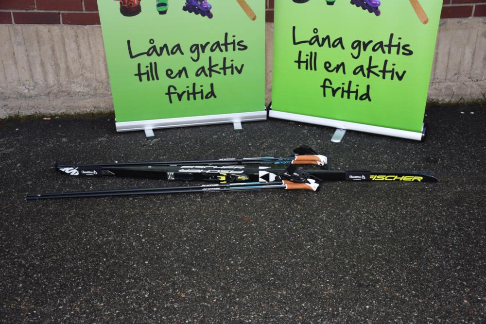 Hyr ett par längdskidor i Umeå